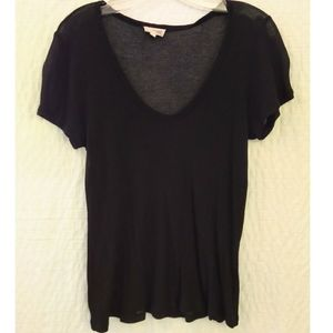 3/$20 Aritzia Wilfred Free Ribbed T-Shirt